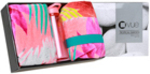 Vue Sale Over 50% or 60% Off: $10 or $15 Each Beach Towel, $20 Tropical Garden/Beach Gift Set, $20 Beach Umbrella or Mat @ Myer