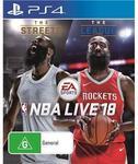 [PS4/Xbox One] NBA Live 18 $59 @ JB Hi-Fi (Day One Purchase 15/9 & Pre-Order Price)