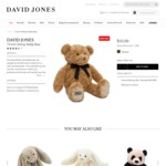 Teddy Bear $10 (Was $44.95), Alexander Wang Crossbody $278.7 (Was $929), Marc Joseph New York $29.25/Pair (80% off)@ David Jones