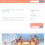 $28.60 (Usually $52) for Unlimited All-Day Luna Park Rides Pass in Sydney - 45% off Limited Offer @ Leezair