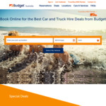 Budget Car Rental Coupon: 4th Day Free of The Daily Base Rate