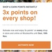 3x Points on Every Shop @ Woolworths