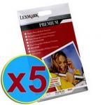 5 X Lexmark Premium Glossy 10x15 Paper ONLY $4.95 @ TopBuy +Free shipping +10% off if use PAYPAL