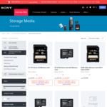 Sony Half Price Memory Cards and USB Sticks - 16GB $12.48 (Was $24.95)