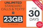30 Day (23GB) Extra Large Kogan Mobile Prepaid Voucher with SIM $4.90 (New Customers Only) @ Kogan