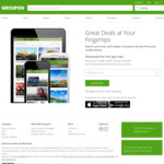 20% off Beauty Deals @ Groupon (Via App Only)