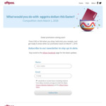 Win a Share of 450 $100 Prepaid EFTPOS Cards +/- a $5,000 Prepaid EFTPOS Card from EFTPOS Australia