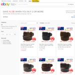 Genuine Leather Belts Australian Made $21.55 - $26.95 - Buy 2 Save $5; Buy 3 Save $10 @ Paramount.australia on eBay