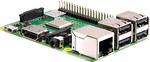 Raspberry Pi 3B+, 1GB RAM, BCM2837B0 64-Bit @ 1.4GHz, 2.4+5GHz Wi-Fi, 300mbps Ethernet - $55 @ Core Electronics