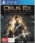 [PS4] Deus Ex Mankind Divided Day One Edition $10 @ Big W