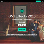 Free ON1 Effects 2018 Full Version Download (Win & Mac) (Value US $59.99)