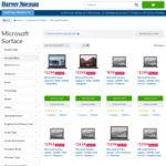 20% Off Surface Pro, Surface Laptop, Surface Book & Surface Studio @ Harvey Norman