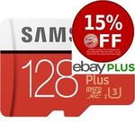 2x Samsung EVO Plus Micro SD 128GB $69.70 Delivered @ Shopping Express eBay [eBay Plus Members]