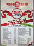 [VIC] Free Burgers, Today from 11AM-1PM @ Friends Burger's (Elsterwick)