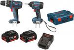 Bosch 2 Pce 18V Cordless Kit - Hammer Drill & Impact Driver 3.0ah $227 at Blackwood Xpress