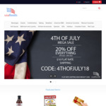 USA Foods - 20% off Store Wide and $10 Flat Rate Shipping (up to 22kg)