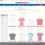 Various World Cup 2018 Mens Poly Tees from $10 (Was $39.98) + $1.99 Postage @ SportsDirect