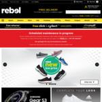 10% off Storewide @ rebel (Online) (from 6am till Midnight)