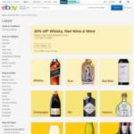 20% off Selected Wine & Spirit Sellers (Good Drop, GraysOnline, Wine Market etc.) @ eBay