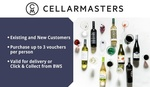 Cellarmasters $10 for $100 Credit (Existing and New Customers, Min Spend $200) @ Groupon