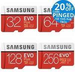 Samsung EVO Plus MicroSD 256GB $95.20 Delivered @ Tech Mall eBay