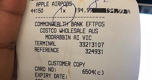 VIC] Apple AirPods $194 99 @ Costco Moorabbin (Membership