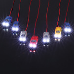 10 Pieces 1:150 Scale Painted Head Light Model Car US$7.99 / $11 AUD (Was US $9.99) Delivered (~AU $11) @ Funyroot