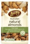 1/2 Price: Lucky Natural Almonds 500g $5, Almond Meal $5.25 @ Coles