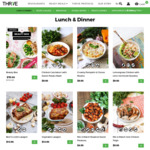 [QLD/NSW/VIC/ACT] 60% off All THR1VE Ready Meals Order ($250 Minimum Spend)