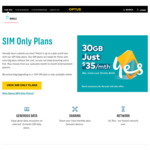 Optus SIM Only Plan: 30GB Data, Unlimited National Calls & Texts + More for $35/Month, 12 Months Minimum (Students $31.50/Month)