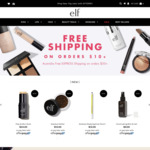 Free Shipping on $10+ Orders, Free 3pc Set (Lipstick, Mascara, Blush) with $45 Order, Sale Items from $2 @ e.l.f. Cosmetics