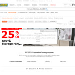 IKEA 25% off Besta Storage