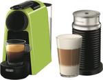 Nespresso DeLonghi Essenza Mini Capsule Machine - Lime Green w/Aeroccino $133.20 ($113.20 after $20 C/B) @ The Good Guys eBay