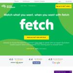 Aussie Broadband - 3 Months Free FetchTV