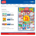 Chemist Warehouse Boxing Day Sale: Half Price Blackmore's Fish Oil, Multivitamins, W7 Range