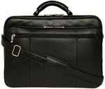 Monsac Black Leather Laptop Bag $149.70 Delivered (Was $499) @ Myer