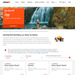 Jetstar Uncharted Territory NT Sale - Eg Sydney to Darwin from $119 One Way, Melbourne to Uluru (Ayer's Rock) from $89 One Way