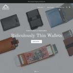 20% off Leather Functional Design Slim Wallets: Note Silhouette $55.99, Slim Line $47.99, Smart Slide $39.99 @ Karakoram2