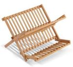 Foldable Wood Dish Drying Rack $11 (about 60% off) + Shipping @ Real Smart
