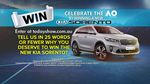 Win a Kia Sorento Worth $60,000 from Nine Network