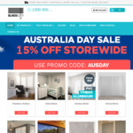 15% Off Everything - Awnings , Shutters, Blinds & Curtains @ Blinds City