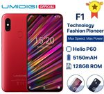 "UMIDIGI F1 Android 9.0 6.3"" FHD+ 128GB ROM 4GB RAM Helio P60 5150mAh Battery 18W Fast Charge Phone 16MP+8MP $299 @ Aliexpress"