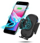 50% off Antank Automatic Infrared Wireless Car Charger Mount $19.99 + Delivery (Free with Prime/ $49 Spend) @ Antank Amazon