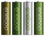 Panasonic Eneloop AA Rechargeable NiMH Batteries 1900mAh 4pk 4th Gen Made in Japan $17.89/ $31.99 Delivered @ Batterymates eBay