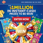 Win a Share of $1,030,000 Worth of Cash Prizes +/- Up to $1,000,000 Cash from Smith's [Purchase Smith's]