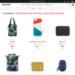 Extra 20% off Sale Items @ Crumpler