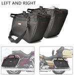 2 Pcs Luggage Bag for Motorbike / Saddlebag / Side Tour Pak for Harley Touring GL1800 Vulcan $71.43 Delivered @ Kemimoto eBay