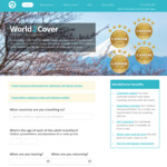 25% off World2Cover Travel Insurance