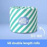 Earth Day Toilet Paper 48 Double Length Rolls $35.04 Delivered @ Who Gives a Crap