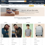 10% off First Amazon Fashion Order @ Amazon AU